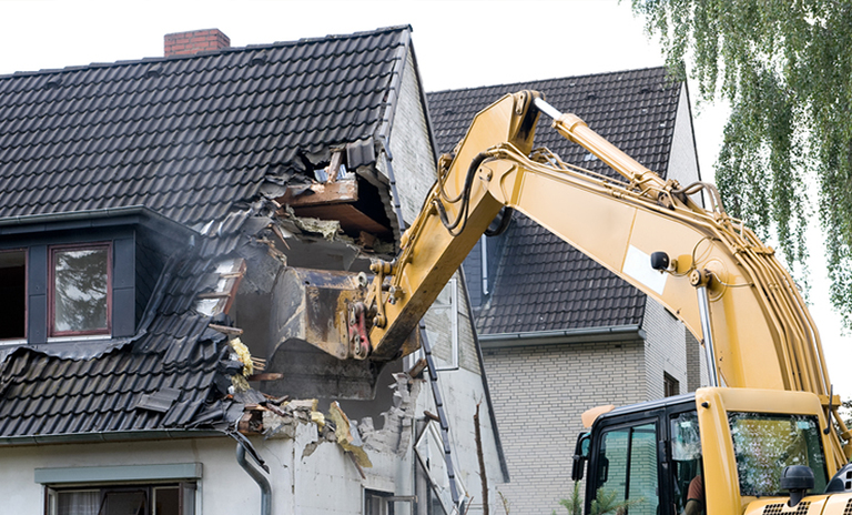 How To Demolish A House Express